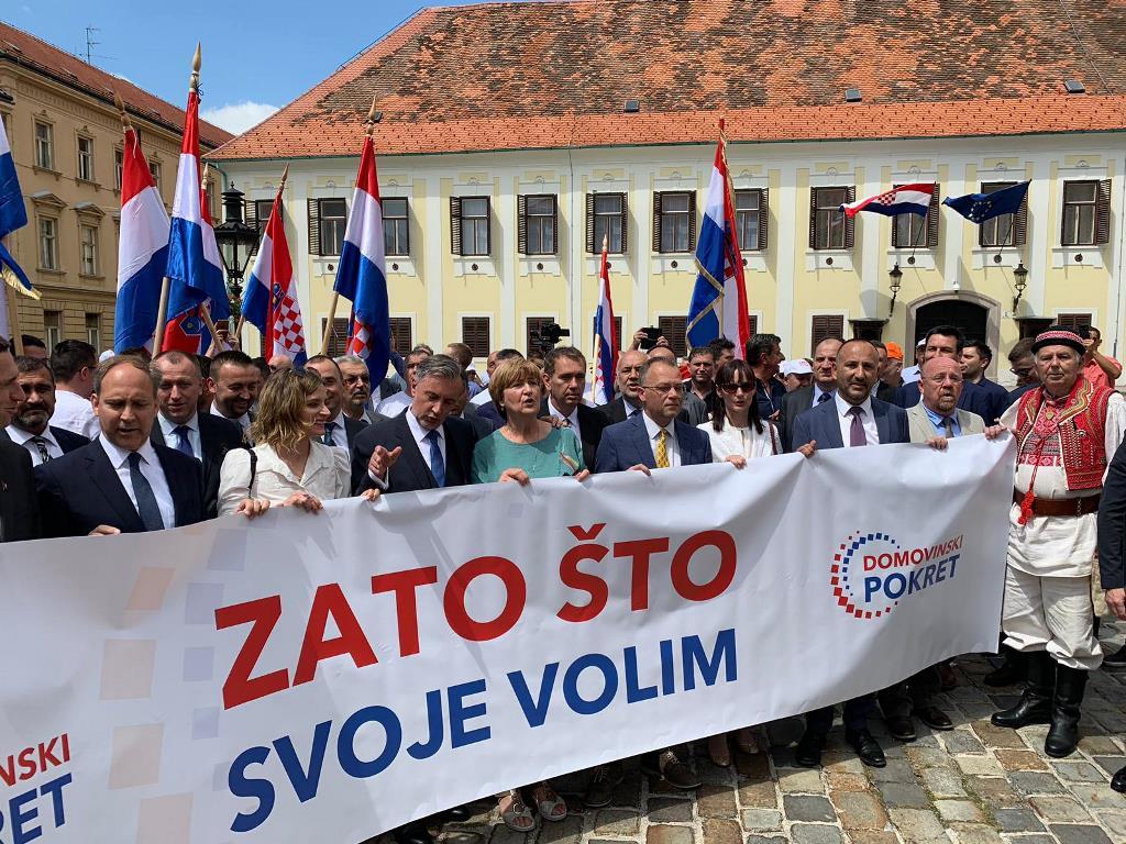 Domovinski pokret Miroslava Škore predao liste za parlamentarne ...